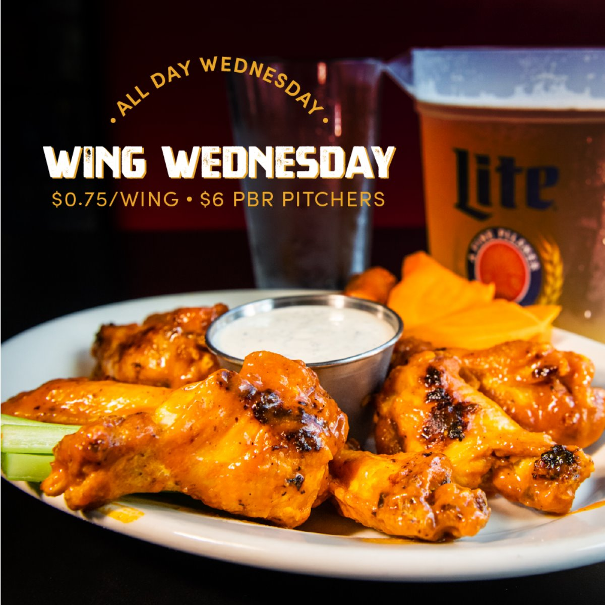 Weekly Special Wing Wednesday